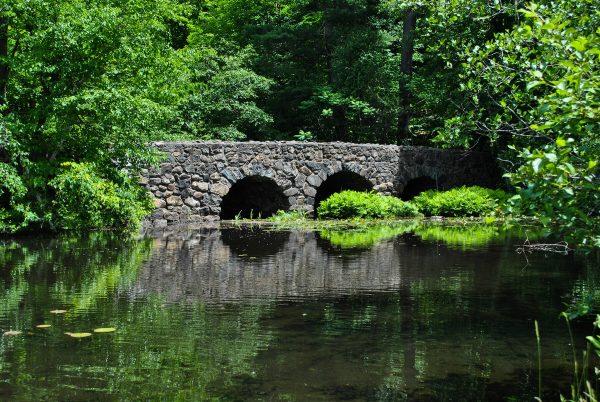 Pont du secteur de la montagne
