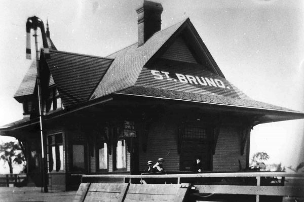 Ancienne gare de Saint-Bruno