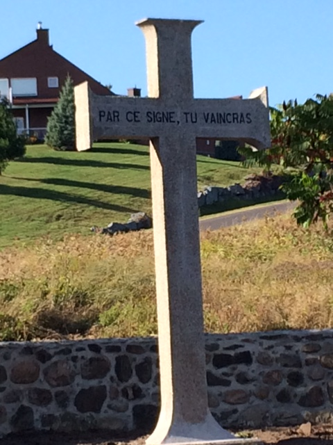 Croix du notaire Victor Morin