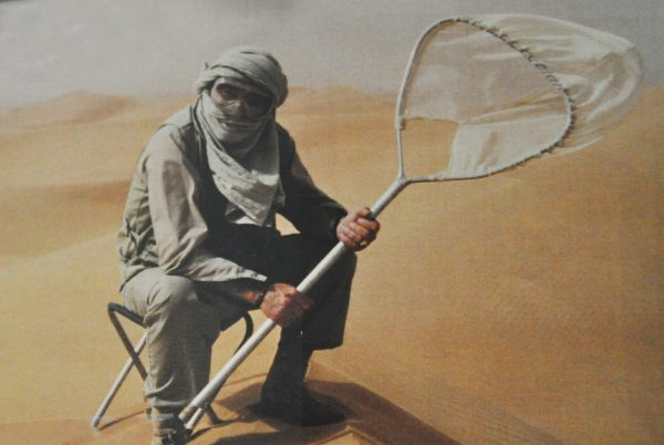 Georges Brossard en voyage de chasse dans le désert