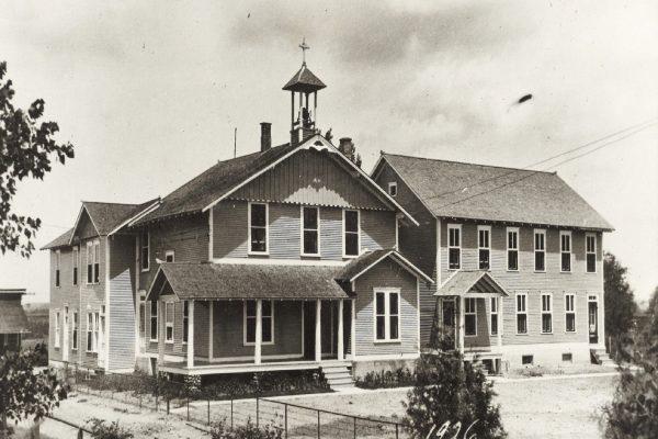 Villa Grand Coteau, bâtiment principal : résidence des Frères et chapelle