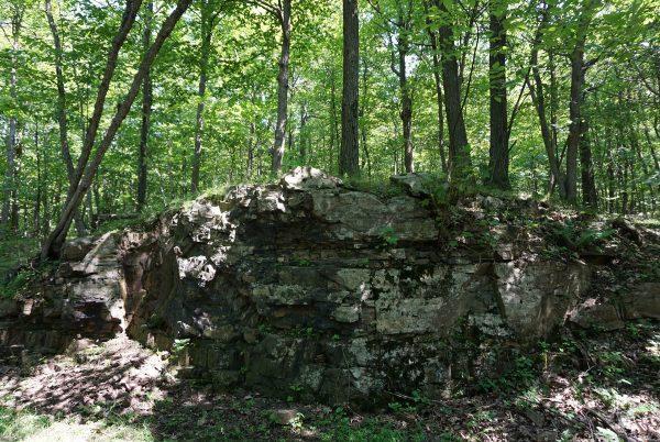 Site d'intérêt géologique parc nationnal du Mont-Saint-Bruno